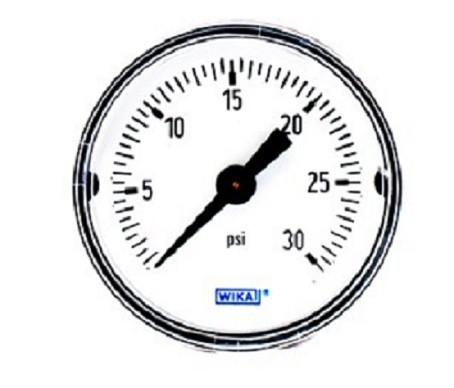 Wika 9690217 General Purpose Dry Gauge 111.12 Series
