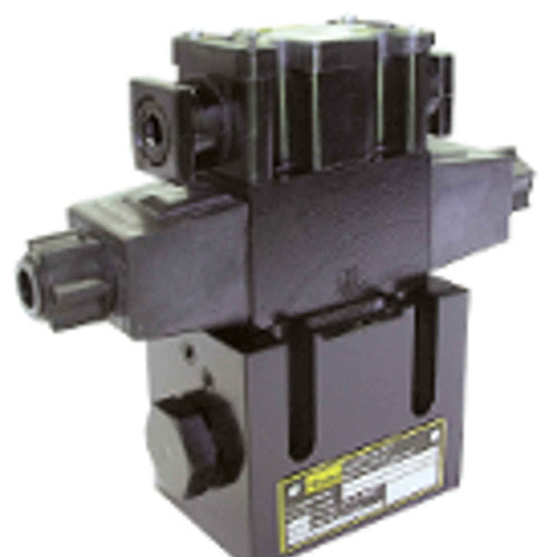 ParkeD31VW001C4NYCF Directional Control Valve Double Solenoid 3 Position Spring Centered NFPA D05H 3000 PSI r