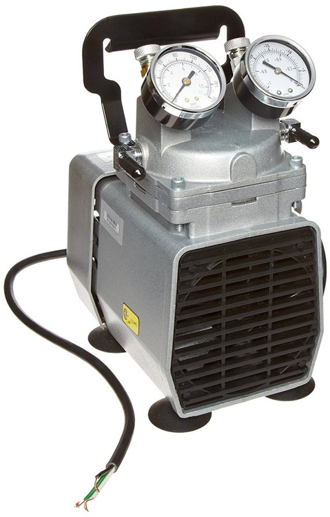 Gast DOA-P504-BN Diaphragm Air Compressor / Vacuum Pump .33 HP 1.55 CFM-50HZ 1.90 CFM-60HZ 25.5 IN-HG