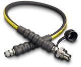 Enerpac HC-9203 3 Foot High Pressure Hydraulic Hose with CH-604 Coupler 3/8 NPTF