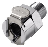 Colder MCD1002 Valved Coupling Body 1/8 NPT 250 PSI Chrome-plated Brass