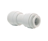 John Guest PP0408W Equal Straight Connector 1/4 Tube OD Polypropylene White 150 PSI