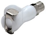 Colder PMCD13025 Valved In-Line Coupling Body 5/32 PTF 120 PSI Acetal White