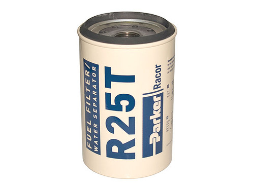Racor R25T Aquabloc® Diesel Replacement Spin-on Filter Element 10 Micron