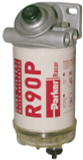 Racor 490R30 Diesel Fuel Filter/Water Separator 30 Micron 90 GPH 3/8-18 NPTF 30 PSI