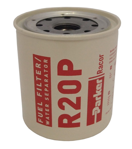 Racor R20P Aquabloc® Diesel Replacement Spin-on Filter Element 30 Micron 90 GPH 1/4-18 NPTF