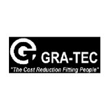 Gra-Tec 204C4N Coupling Insert Male 1/8 Inch Flow X 1/4 Hose Tube Barb Chrome-plated Brass
