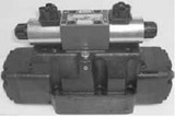 Parker 082C4NYC Directional Control Valve Double Solenoid 3 Position Spring Centered NFPA D08 5000 PSI