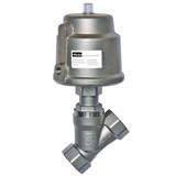 Parker Skinner PA25SAN6S063A 2-way Angle Body Normally Closed Seat Valve 1 Inch 116 PSI Stainless Steel
