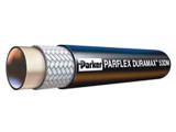 Parker 53DM-8 DuraMax™ Low Temperature Hydraulic Hose 1/2 ID Single Fiber Braid Copolyester Cover Black