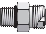 Parker 20 F5OLO-S Seal-Lok Male Adapter 1-1/4 ORFS X 20 SAE-ORB Steel