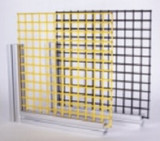 Futura Industries 655316-31.63 IN X 25.25 IN Black PVC Coated Wire Mesh