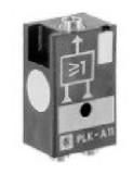 Parker PLKA11 Pneumatic Line Mounted Logic Element