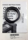 Ortman Fluid Power TS543511000 Tube Seal Kit 2-1/2 Bore 3TH Series
