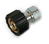 Suttner P200040800 Screw Coupling M22 F X 1/4 FNPT Brass 5800 PSI