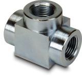 Enerpac FZ-1612 High Pressure Tee 3/8 NPTF Female X 3/8 NPTF Female Steel