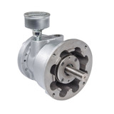 Gast 8AM-NRV-28A Reversible Lubricated Air Motor 5 HP 2500 RPM 100 PSI