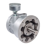 Gast 8AM-NRV-32A Reversible Lubricated Air Motor 5 HP 2500 RPM 100 PSI