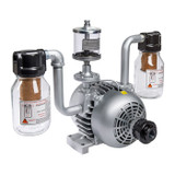 Gast 2065-V2A Rotary Vane Air Compressor / Vacuum Pump 1 HP 14 CFM-50HZ 17 CFM-60HZ 28 IN-HG