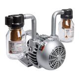 Gast 2567-V103 Rotary Vane Vacuum Pump 1-1/2 HP 17 CFM-50HZ 21 CFM-60HZ 28 IN-HG