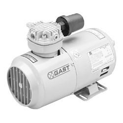 Gast 1VAF-10-M100X Piston Vacuum Pump .17 HP 1.49 CFM-50HZ 1.80 CFM-60HZ 27.5 IN-HG