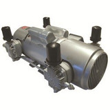 Gast 8HDM-10-M853 Piston Air Compressor 2 HP 11 CFM-50HZ 11 CFM-60HZ 25 IN-HG
