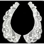 Collar Appliques Venise Lace Rayon L & R Ivory