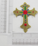 Iron On Patch Applique - Cross
