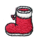 Iron On Patch Applique - Christmas Stockings