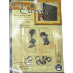 Snap Charms Dritz Roses Dangle
