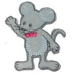 Iron On Patch Applique - Mouse 5221