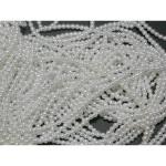 "Strung  Beads 60"" Strings 4mm  Irridescent"