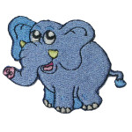 Iron On Patch Applique - Elephant.