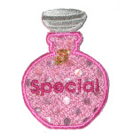 Iron On Patch Applique - Fancy Scent Bottle 6981