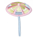 Iron On Patch Applique - Beach Umbrella