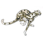 Iron On Patch Applique - Cheetah WBG X Medium