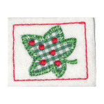Iron On Patch Applique - Leaf Patch