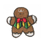 Iron On Patch Applique -  Gingerbread Man