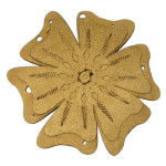 Iron On Patch Applique - Laser Cut Layered Flower 7688
