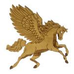 Iron On Patch Applique - Laser Cut Pegasus