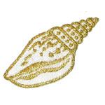 Iron On Patch Applique - Metallic Shell