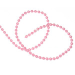 Fused Beads 4mm Pink 24 Yards