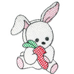 Iron On Patch Applique - Rabbit
