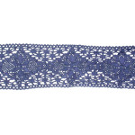 "Cluny Lace - 2 1/4"" Blue Yards"