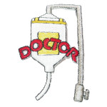 Iron On Patch Applique - Doctors IV Line