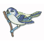 Iron On Patch Applique - Bird on Branch
