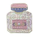 Iron On Patch Applique - Perfume Bottle