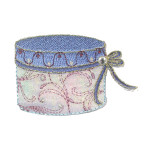 Iron On Patch Applique - Hat Box 9370