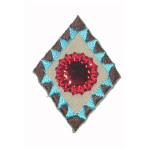Iron On Patch Applique - Native American Patch.