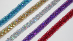 "Sequin Braid 1/2"" (12.7mm) Colors 5 Yards"